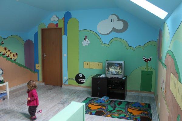la salle de jeux en cour d am nagement blog de. Black Bedroom Furniture Sets. Home Design Ideas